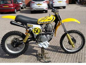 Husqvarna / Yamaha hybrid for sale at Owens Moto Classics