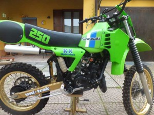 Kawasaki KX 250 for sale at Owens Moto Classics