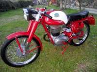 Mondial Sprint, 175cc, 1959 at Owens Moto Classsics