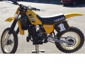 Yamaha YZ, 250cc, 1984 for sale at Owens Moto Classics