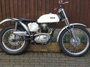 BSA B40 Trials at Owens Moto Classics