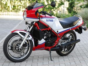 Yamaha 350 lc, 1984 at Owens Moto Classics