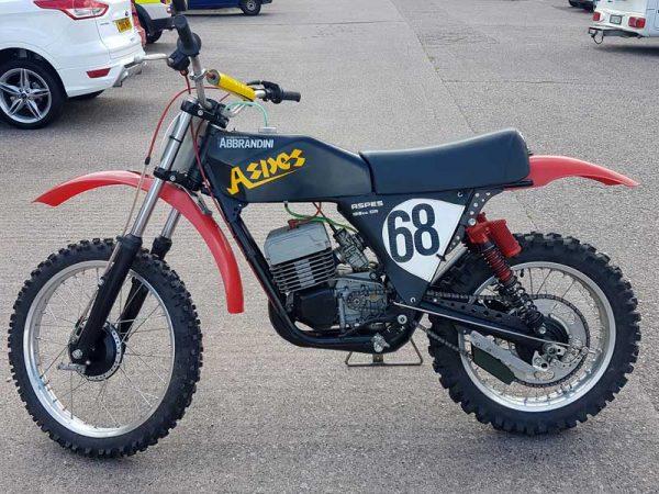 Aspes 125 CR, 1976 at Owens Moto Classics