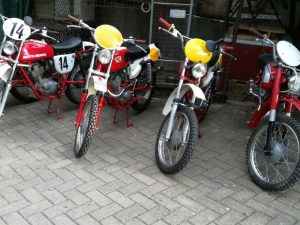 Moto Morini Various ISDT at Owens Moto Classics