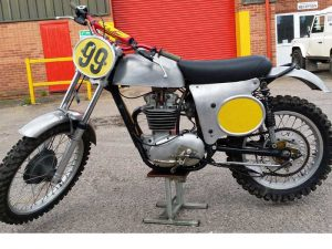 Cheney BSA special at Owens Moto Classics