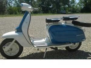 Lambretta LI mark 3, 150cc, 1963 at Owens Moto Classics, Stafford, UK