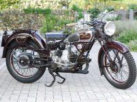 Moto Guzzi 500 GTS, 1936 at Owens Moto Classics