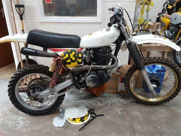 Yamaha HL 500, 1979 at Owens Moto Classics