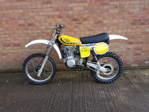 Yamaha HL 600 1979 At Owens Moto Classics