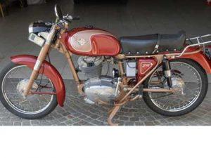 Ducati 175 TS at Owens Moto Classics
