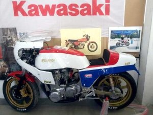 Segoni Kawasaki Z1E, 1977 at Owens Moto Classics