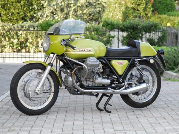 Moto Guzzi V7 1972 at Owens Moto Classics