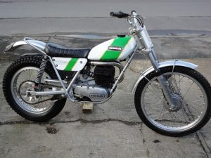ossa 250 mar 1972 at Owens Moto Classics