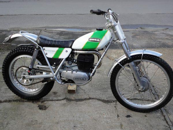 ossa 250 mar 1972 at Owens Moto Classics