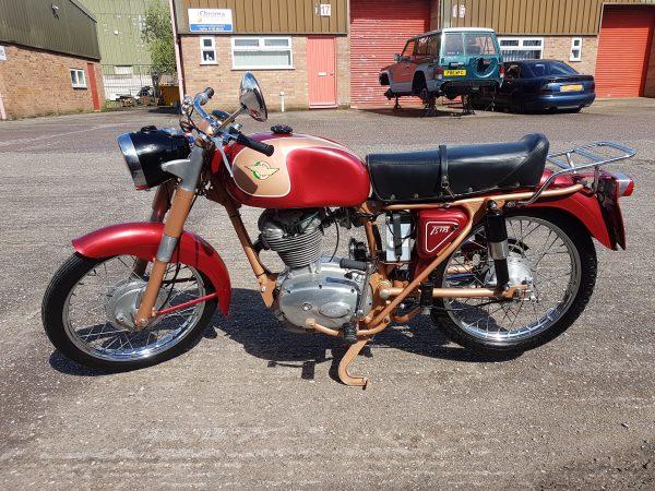 Ducati 175 TS 1962 at Owens Moto Classics