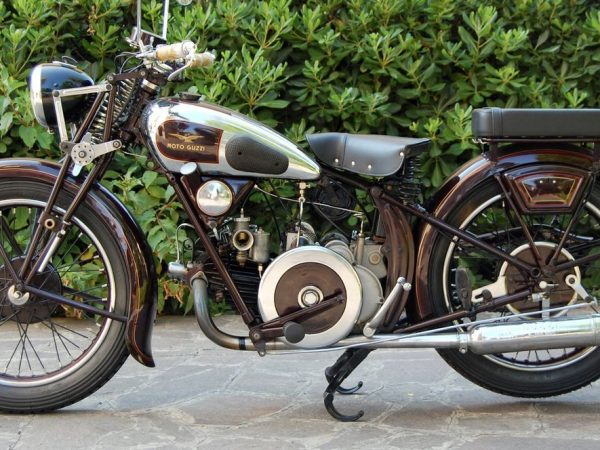 Moto Guzzi 500 S 1935 at Owens Moto Classics