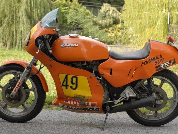 Laverda 500 formula @ Owens moto classics