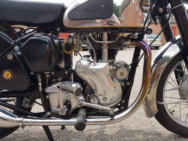 Velocette viper 1958 at Owens Moto Classics