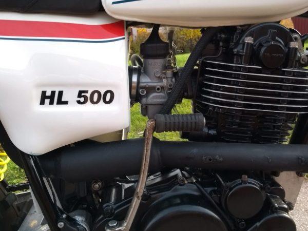 Yamaha hl 500 1979