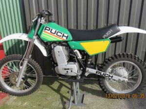Puch 506 mx 1986 at Owens Moto Classics