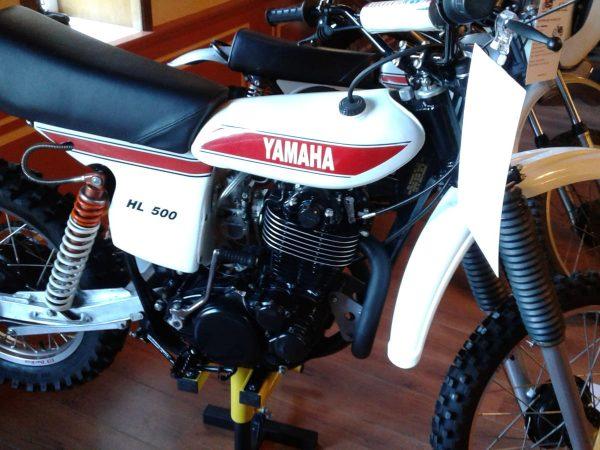 Yamaha HL 500 1978 at Owens moto classics