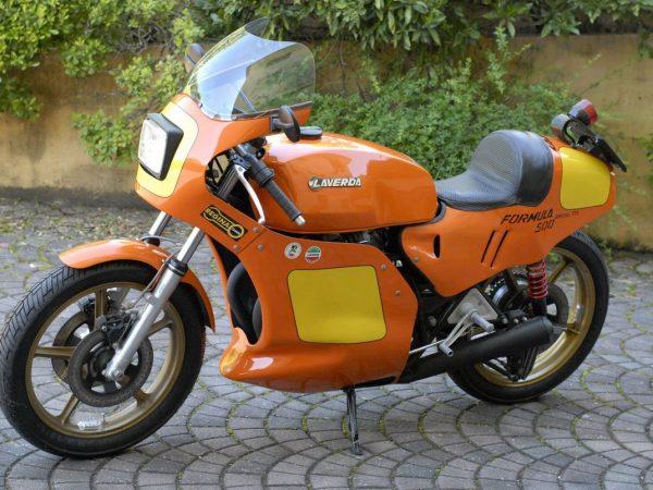 Laverda formula TT2 1980 @ owens moto classics