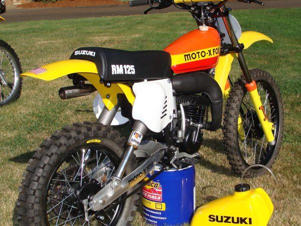 Fox suzuki 125 1978@ Owens moto classics