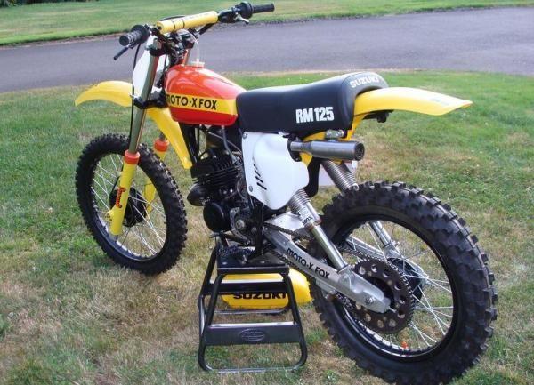 Fox suzuki 125 1978@Owens moto classics