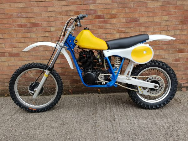 Mulder Yamha 500 1982 @ owens moto classics