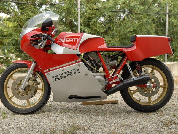 ducati daspa replica 1981 at Owens Moto Classics