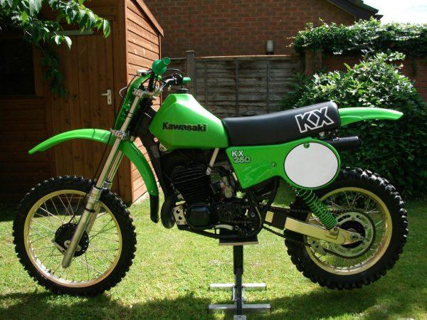 Kawasaki kx 250 1979 at Owens Moto Classics