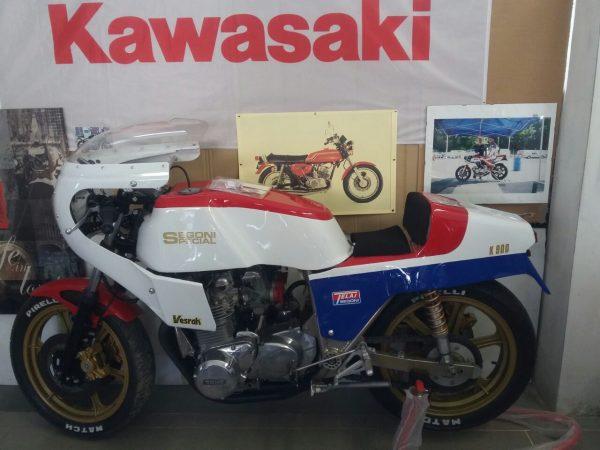 Segoni Kawasaki K900 1977@ Owens Moto Classics
