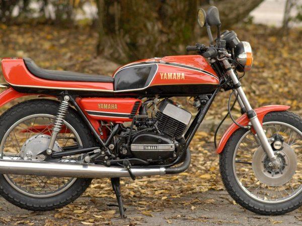 maha rd 350 Cecottina 1977@ owens moto classics