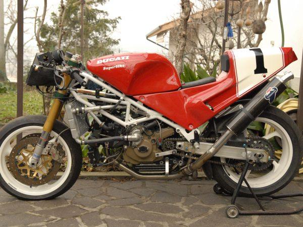 Ducati 888 racing 1992 at Owens moto classics