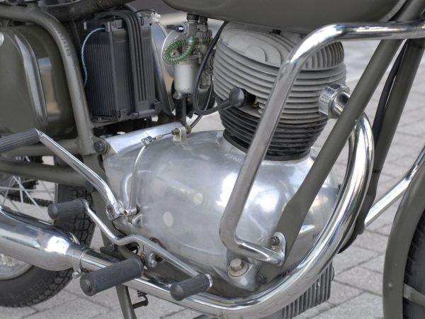 Gilera sport 172 military 1972 @ owens moto classics