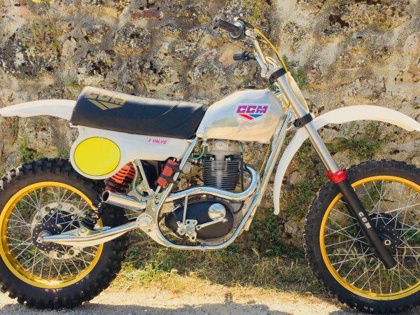 CCM 500 2 Valve 1979 @ owens moto classics