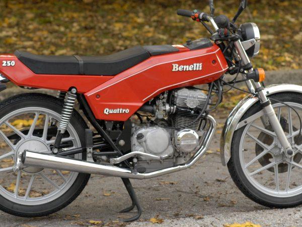Benelli 250 quattro 1979 at owens moto classics