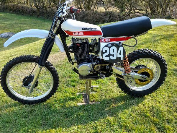 Yamaha HL 600 1978 @ Owens moto classics