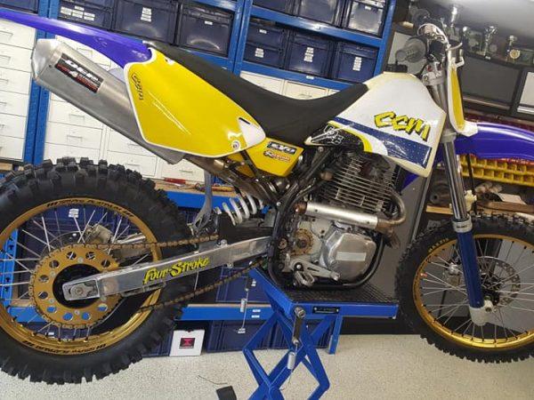 CCM 604E 2000 @ Owens moto classics