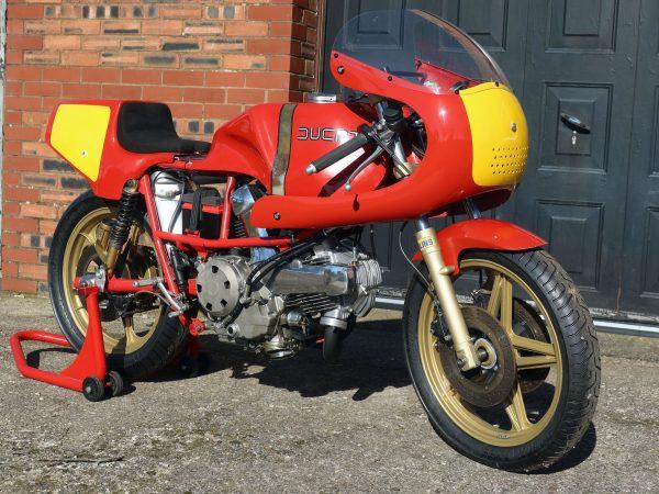 Ducati 531 race bike 1981@owens moto classics